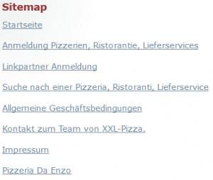 HTML Sitemap-Datei