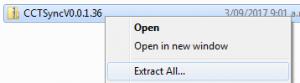 zip Datei entpacken