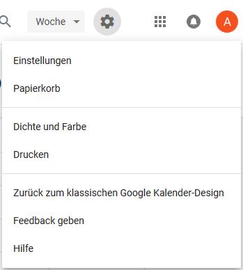 Google Kalender Wiederherstellen